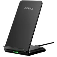 ChoeTech Wireless Fast Charger Stand 10W Black - Wireless Charger