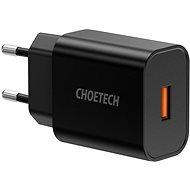 ChoeTech Quick Charge 3.0 USB 18W Black - AC Adapter