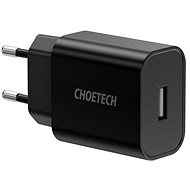 ChoeTech Smart USB Wall Charger 12W Black - AC Adapter