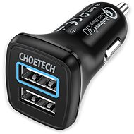 ChoeTech Quick 2x QC3.0 USB-A Car Charger - Charger