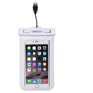 ChoeTech Waterproof Bag for Smartphones, White - Mobile Phone Case