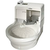 CatGenie 120+ Robotic Toilet without Hatch - Self Cleaning Litter Box