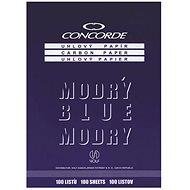 CONCORDE angled, A4, 100 sheets, blue - Colour Paper