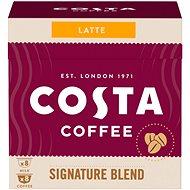 Costa Coffee Signature Blend Latte 8 Servings - Compatible with Nescafé® Dolce Gusto Coffee Machines - Coffee Capsules