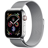 COTEetCI Steel Magnetic Strap for Apple Watch 42 / 44mm Silver - Watch band