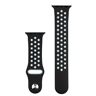 COTEetCI Sports Perforated Strap for Apple Watch 42 / 44mm Black-grey