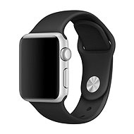 COTEetCI Silicone Sports Strap for Apple Watch 38/40mm Black