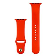 COTEetCI Silicone Sports Strap for Apple Watch 38/40mm Red - Watch band