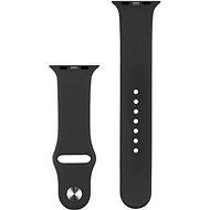 COTEetCI Silicone Sports Strap for Apple Watch 42/44mm Black