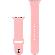 COTEetCI Silicone Sports Strap for Apple Watch 42/44mm Pink