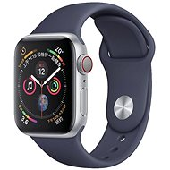 COTEetCI Silicone Sports Strap for Apple Watch 42/44mm Midnight Blue