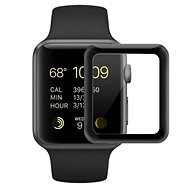 COTEetCI 4D Glass with Full-surface Gluing with Black Rim for Apple Watch 38mm - Glass protector