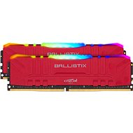 Crucial 64GB KIT DDR4 3200MHz CL16 Ballistix Red RGB - System Memory
