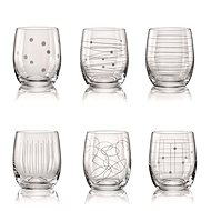 CRYSTALEX  ELEMENTS Glasses for Water / Whiskey 300ml, 6pcs