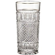 Bohemia Crystal Set of water glasses 2 pcs 350 ml FELICIE LINE GOLD - Drinking Glass