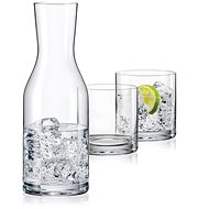 Crystalex WELLNESS set of carafe and glasses