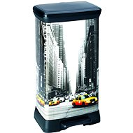 Curver DECOBIN NEW YORK Waste Bin - Waste bin