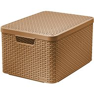 CURVER STYLE BOX L V2 with a lid 03619-213 - Light Brown - Storage Box