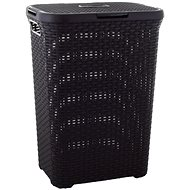 Curver Laundry Hamper 40l brown Rattan