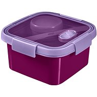 Curver SMART TO GO Lunch Kit 1.1l with cutlery, bowl and tray - purple