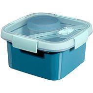 Curver SMART TO GO Lunch Kit 1.1l with cutlery, bowl and tray - blue