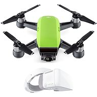 DJI Spark Fly More Combo - Meadow Green + DJI Goggles - Smart Drone