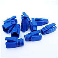 Datacom Plug for the RJ45 Plug (CAT6A, CAT7) Blue (10pcs) - Connector Cover