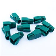 Datacom Plug for the RJ45 Plug (CAT6A, CAT7) Green (10pcs) - Connector Cover