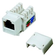 Datacom RJ45 UTP CAT5E (DUAL) MINI white - Keystone