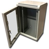 "Datacom 10"" 12U/280mm (glass) grey - Rack"