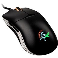 Ducky Feather ARGB - Huano Switches, Black/White - Gaming Mouse