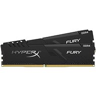 HyperX 64GB KIT DDR4 3000MHz CL16  FURY Black Series - System Memory