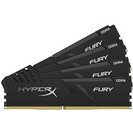 HyperX 128GB KIT DDR4 3000MHz CL16  FURY Black Series - System Memory