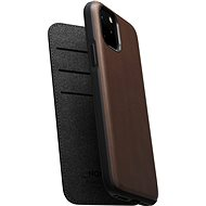 Nomad Folio Leather Case  for iPhone 11 Pro, Brown - Mobile Case