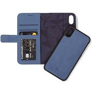 Decoded Leather 2in1 Wallet Blue iPhone XR