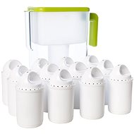 DEWBERRY Basic SLIM GREEN APPLE (Green) + 2x6 Pack - Water filter