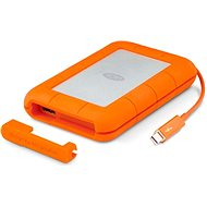 """LaCie 2.5"""" Rugged 500GB Thunderbolt SSD USB-C + SRS Rescue for 3 years - External hard drive"""