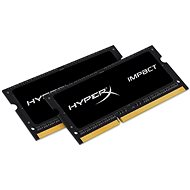 HyperX SO-DIMM 16GB KIT DDR3L 1600MHz Impact CL9 Dual Voltage Black Series - System Memory