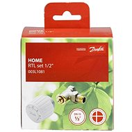 Danfoss Thermostatic Set for Underfloor Heating, 003L1080, DN 15, Straight - Thermostat