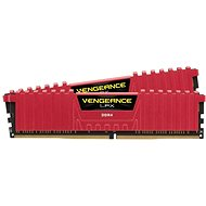 Corsair 16GB KIT DDR4 3200MHz CL16 Vengeance LPX Red - System Memory