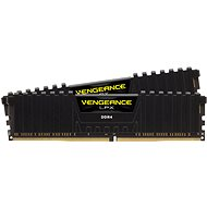Corsair 16GB KIT DDR4 3600MHz CL18 Vengeance LPX Black - System Memory