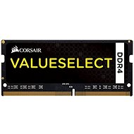 Corsair SO-DIMM 4GB KIT DDR4 2133MHz CL15 ValueSelect Black - System Memory