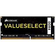 Corsair SO-DIMM 8GB KIT DDR4 2133MHz CL15 ValueSelect Black - System Memory
