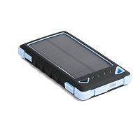 DOCA Powerbank Solar 8000mAh black/blue - Powerbank
