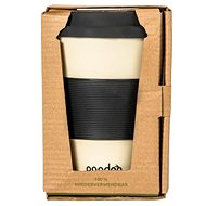 PANDOO Reusable Bamboo Coffee-to-Go Cup, 450ml, White - Container