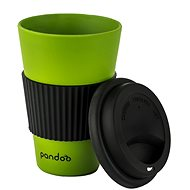 PANDOO Reusable Bamboo Coffee-to-Go Cup, 450ml, Green - Container