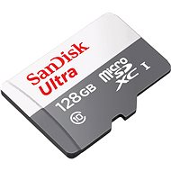 SanDisk microSDXC Ultra Lite 128GB + SD adapter - Memory Card