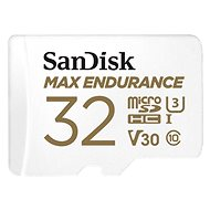 SanDisk microSDHC 32GB Max Endurance + SD Adapter - Memory Card