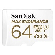 SanDisk microSDXC 64GB Max Endurance + SD Adapter - Memory Card