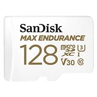 SanDisk microSDXC 128GB Max Endurance + SD Adapter - Memory Card